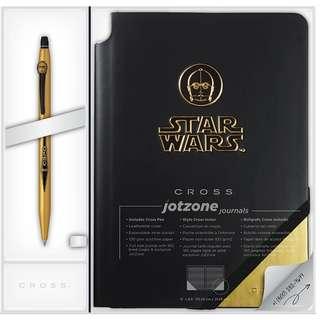 Cross Star Wars Click Gel Ink Pen and Jot Zone Journal