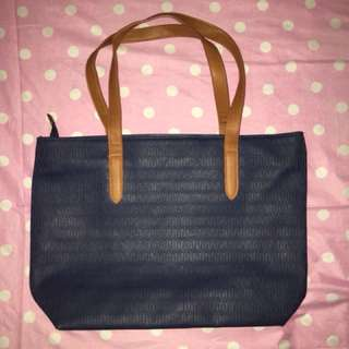 Parisian Blue Bag