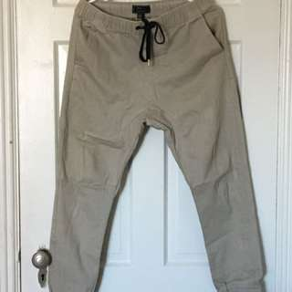 21Men Drop-crotch Joggers