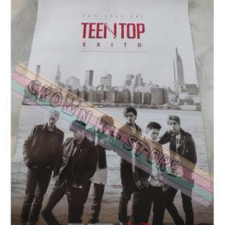 [READY STOCK]TEEN TOP KOREA OFFICIAL POSTER 1PC SHIP USING TUBE (PRICE NOT INCLUDE POSTAGE)(PLEASE READ DETAILS FOR MORE INFO)