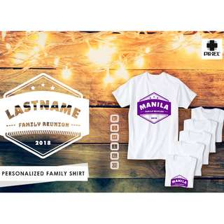 PERSONALIZED FAMILY SHIRT