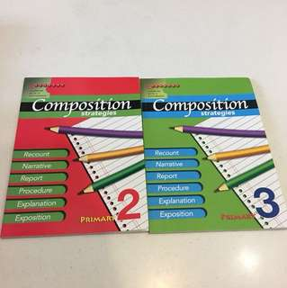 Composition strategies primary 2 and 3