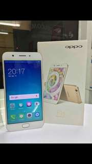 Brand new oppo f1s ,, complete package with free tempered glass & jelly case