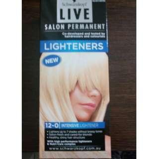 Schwarzkopf Live Salon Permanent Intensive Hair Lightener 12-0