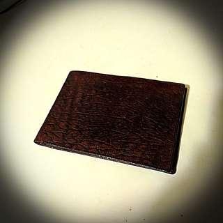 Brown simple wallet