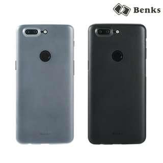 OnePlus 5T BENKS 棒棒糖 四邊全包 防滑磨砂保護殼 手機硬外殼Shell Case 3896A
