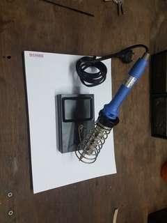 Soldering iron with stand.Tanyo 100w