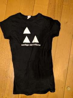 Newfags cant triforce S (8-10) tee shirt meme