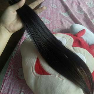 100 strands Preloved Human Hair Extensions