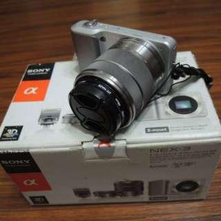 【出售】SONY NEX-3 + 18-55mm 微單眼相機 公司貨