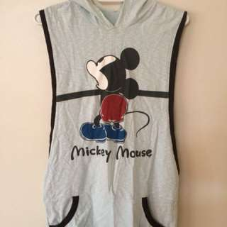 Mickey Mouse hooded top
