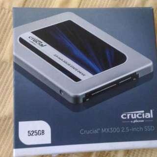 Crucial MX300 2.5 inch SSD 525gb