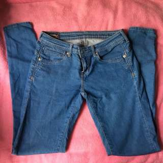 RRJ Denim Skinny Pants