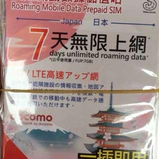 七天 7GB 4G速度