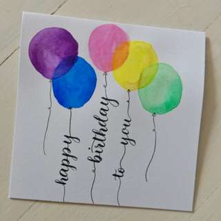 Birthday Card (Customisable)