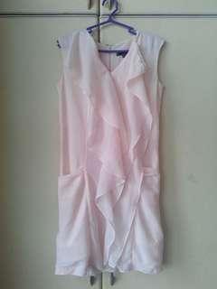 Preloved peach dress