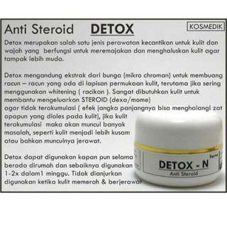 ANTI STEROID AMPUH RESEP DOKTER