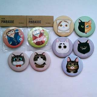 Cat theme Badges, Charms & Magnet Bottle Opener (Scroll for more..) #15Off