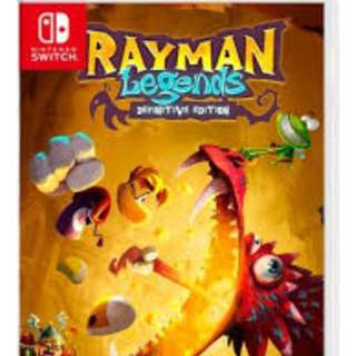 Nintendo Switch Rayman Legends: Definitive Edition