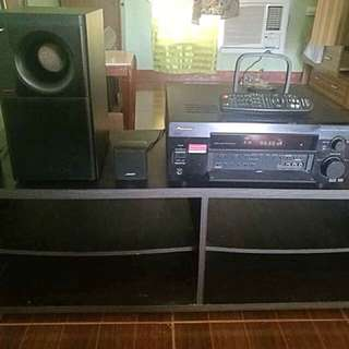 Complete se of BOSE speaker and amplifier