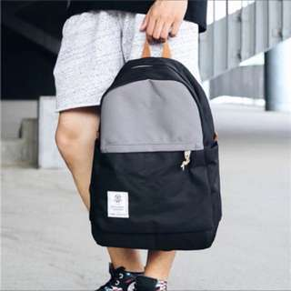 ✨CHIC✨ Cavus Bi-Tone Japan Zakaria Basic Backpack Bag
