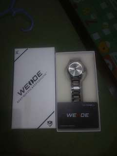 Weide Mens Watch Silver