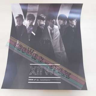 [READY STOCK]SHINHWA KOREA OFFICIAL POSTER 1PC SHIP USING TUBE (PRICE NOT INCLUDE POSTAGE)(PLEASE READ DETAILS FOR MORE INFO)