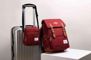 2in1 herschel bag 100% good quality..