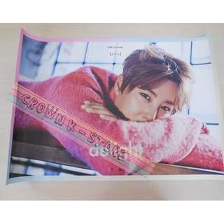 [READY STOCK]SHINHWA HYESUNG KOREA OFFICIAL POSTER 1PC SHIP USING TUBE (PRICE NOT INCLUDE POSTAGE)(PLEASE READ DETAILS FOR MORE INFO)