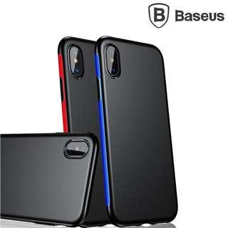 iPhone X 專用BASEUS 甲盾套 雙重防撞保護套 手機防滑軟套TPU Soft Case GSA3909A