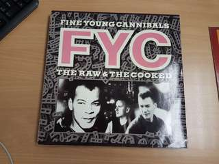 Fine Young Cannibals The Raw And The Cooked Vinyl LP Original Pressing Rare