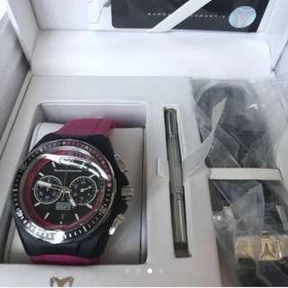 Final Sale! TechnoMarine Cruise Chrono Watch - Unisex with Extra Strap