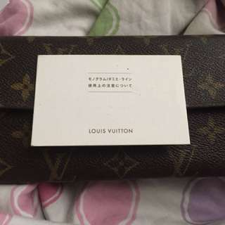 Authentic Louis Vuitton Wallet From Japan