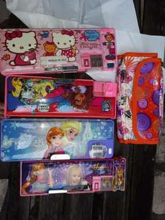 Take all pencil cases as seen in pic .good condition