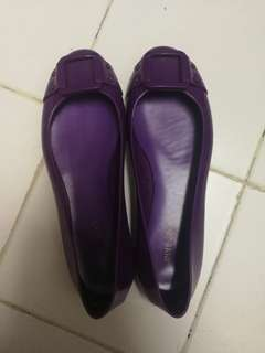 Jimmy Choo Jelly Shoes size 37 purple color