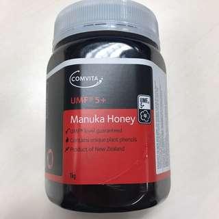 100%new Manuka 5+蜜糖 (1kg)