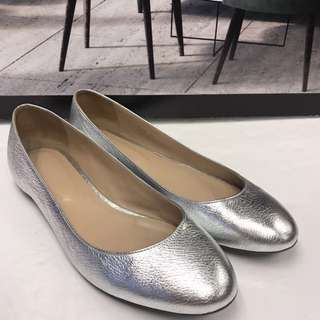 Sergio Rossi Leather Flat Shoes