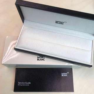 Mont Blanc pen case