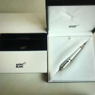 Mont Blanc Black ball pen