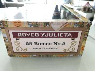 Romeo and juliet no.2 cigars 25pieces
