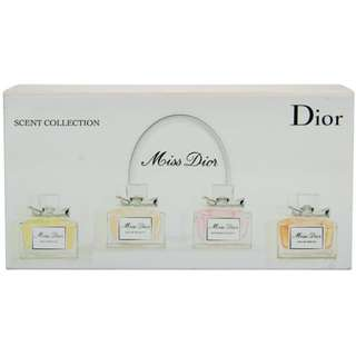 Miss Dior Scent Collection 4pc Miniature