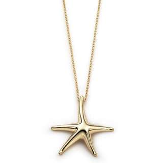 Authenthic Tiffany's Spain Starfish Necklace