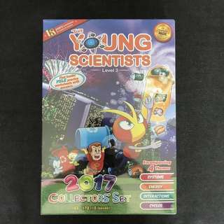 💥 NEW - 2017 Young Scientist Collection Set - Level 3 - Children Learning Book