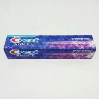 Crest 3D White Toothpaste