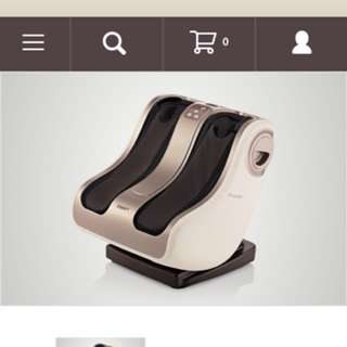 Moving Sale-OSIM Uphoria Warm Foot Massager - Box Available