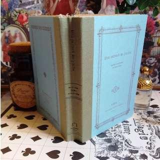 ☆゚: 迷你記事簿 - 古董風格 線裝書脊。・☆ 私人收藏 古董市集 vintage