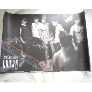 [READY STOCK]2PM KOREA OFFICIAL POSTER 1PC SHIP USING TUBE (PRICE NOT INCLUDE POSTAGE)(PLEASE READ DETAILS FOR MORE INFO)