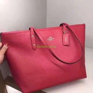 Authentic Coach women Shoulder Bag shopping bag