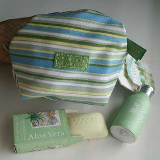 Crabtree & Evelyn Aloe Vera set
