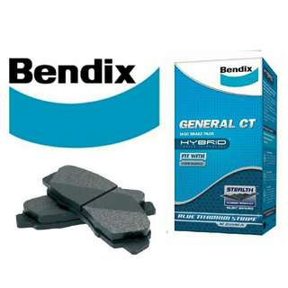 Toyota Harrier 2.0 Elegance / Premium Performance Brake Pads